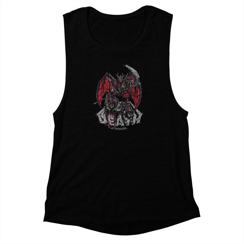 Death Bringer Women's Muscle Tank by mewtate's Artist Shop