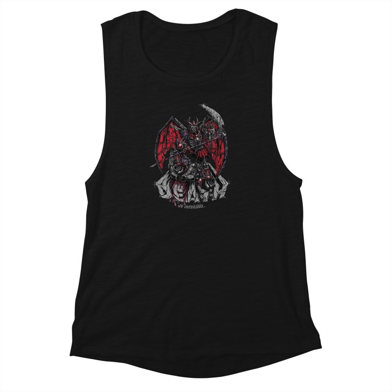 Death Bringer Women's Muscle Tank by mewtate's Artist Shop