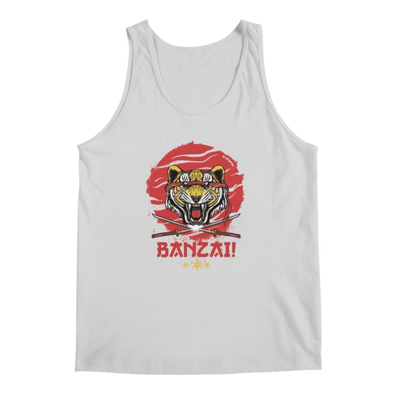 BANZAI! Men's Tank by mewtate's Artist Shop