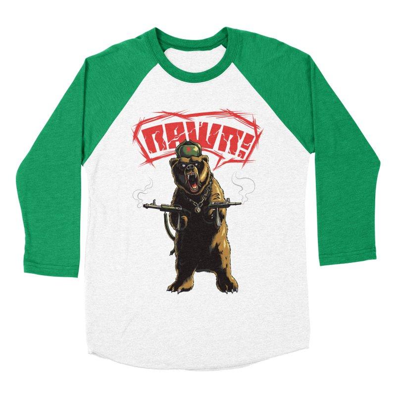 Mishka Women's Baseball Triblend T-Shirt by mewtate's Artist Shop