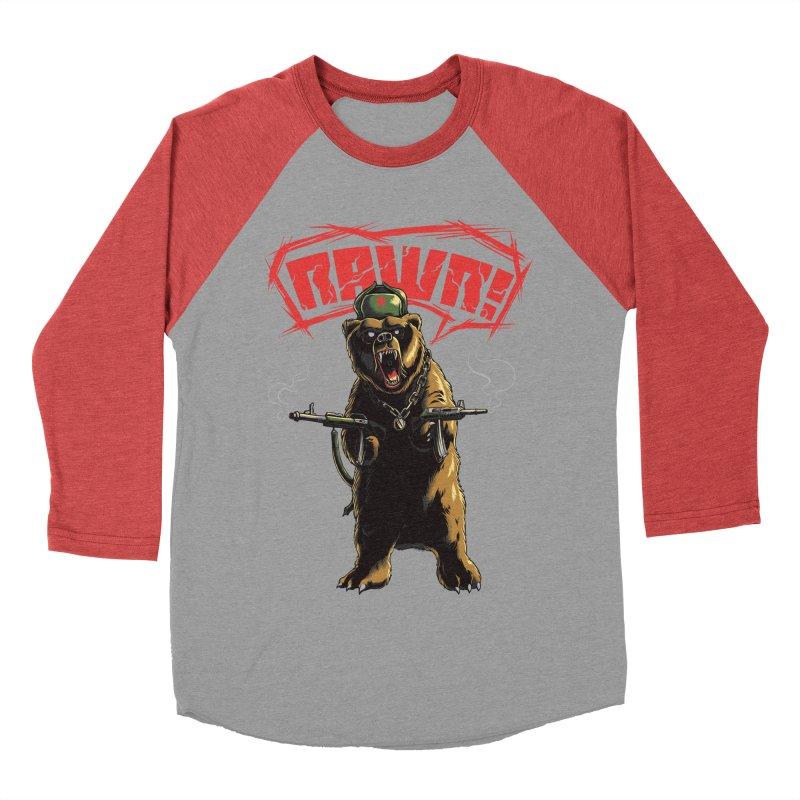 Mishka Men's Baseball Triblend T-Shirt by mewtate's Artist Shop