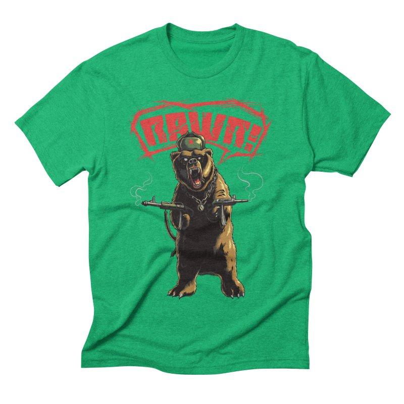 Mishka Men's Triblend T-shirt by mewtate's Artist Shop
