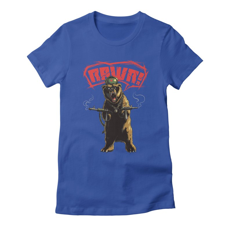 Mishka Women's Fitted T-Shirt by mewtate's Artist Shop