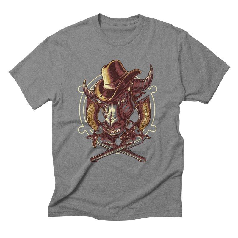 Trembull Men's Triblend T-Shirt by mewtate's Artist Shop