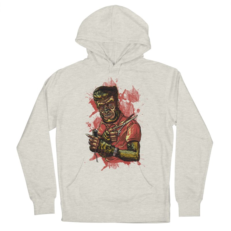 The Wolf Barber of Flee! Steet Women's Pullover Hoody by mewtate's Artist Shop