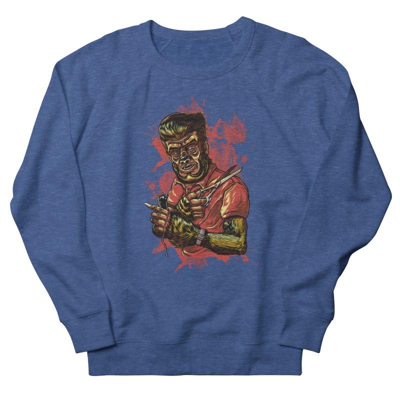 The Wolf Barber of Flee! Steet Men's Sweatshirt by mewtate's Artist Shop