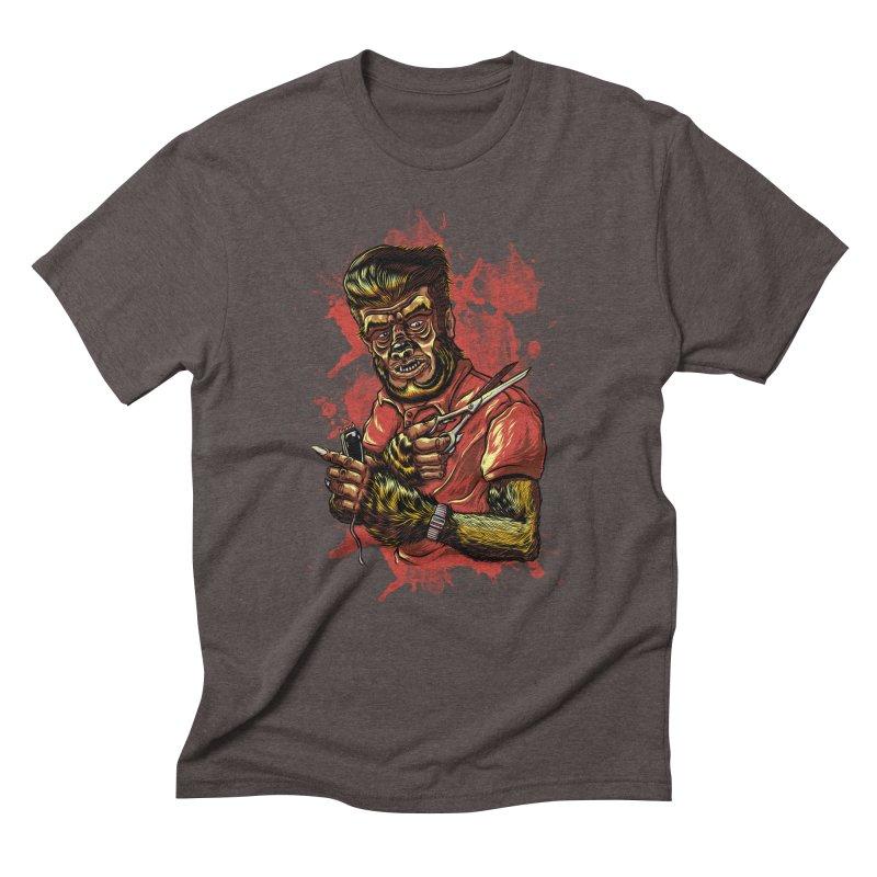 The Wolf Barber of Flee! Steet Men's Triblend T-shirt by mewtate's Artist Shop