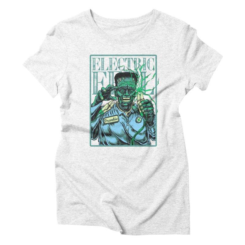 Eel Feelings Women's Triblend T-shirt by mewtate's Artist Shop