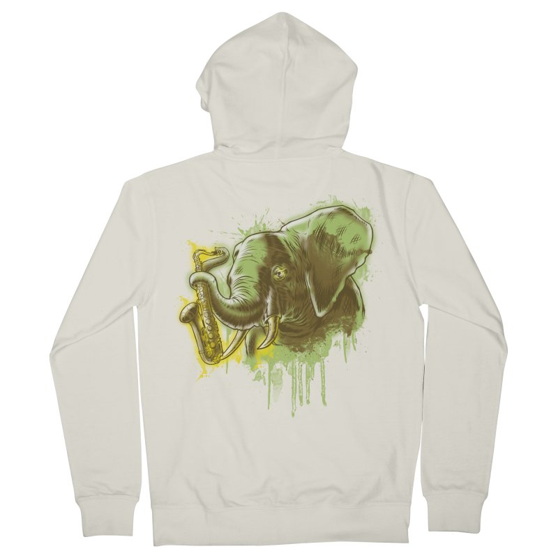 Elefunkaaz Women's Zip-Up Hoody by mewtate's Artist Shop