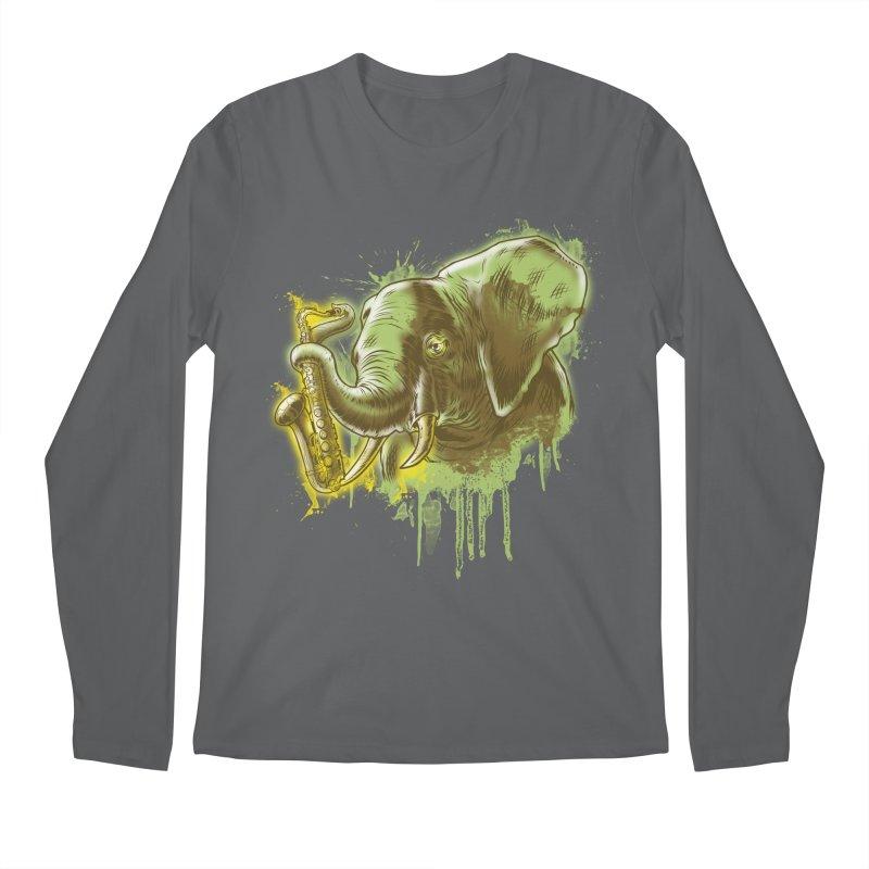 Elefunkaaz Men's Longsleeve T-Shirt by mewtate's Artist Shop
