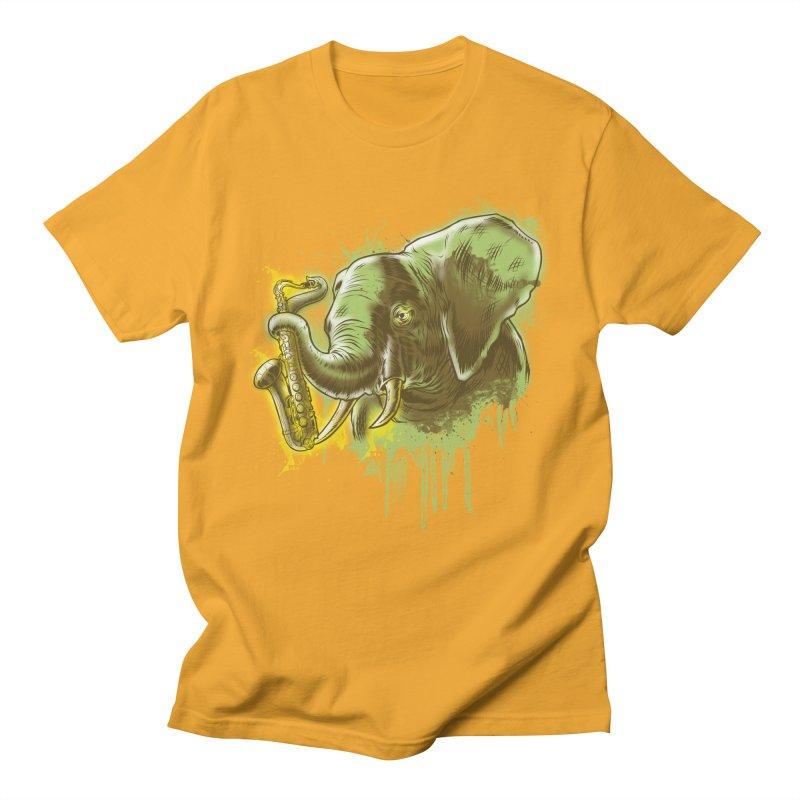 Elefunkaaz Men's T-shirt by mewtate's Artist Shop
