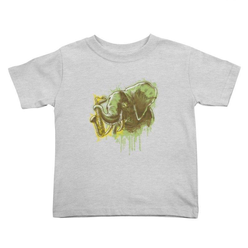 Elefunkaaz Kids Toddler T-Shirt by mewtate's Artist Shop