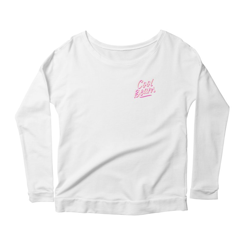 Cool Beans Women's Scoop Neck Longsleeve T-Shirt by Mexa In NYC
