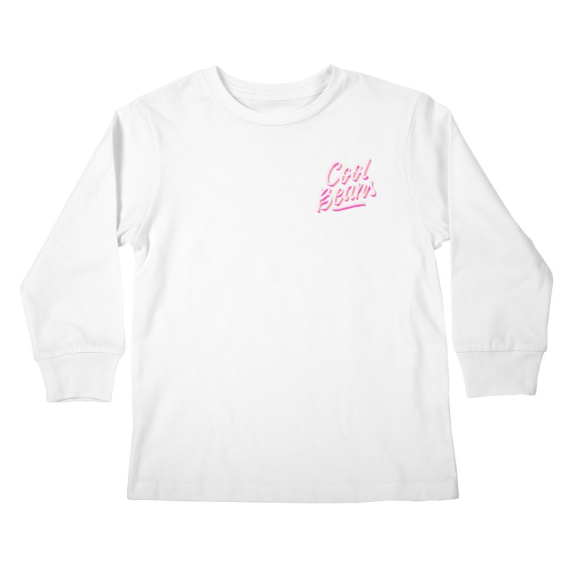 Cool Beans Kids Longsleeve T-Shirt by Mexa In NYC