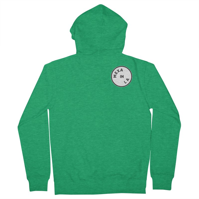 Los Angeles Women's French Terry Zip-Up Hoody by Mexa In NYC