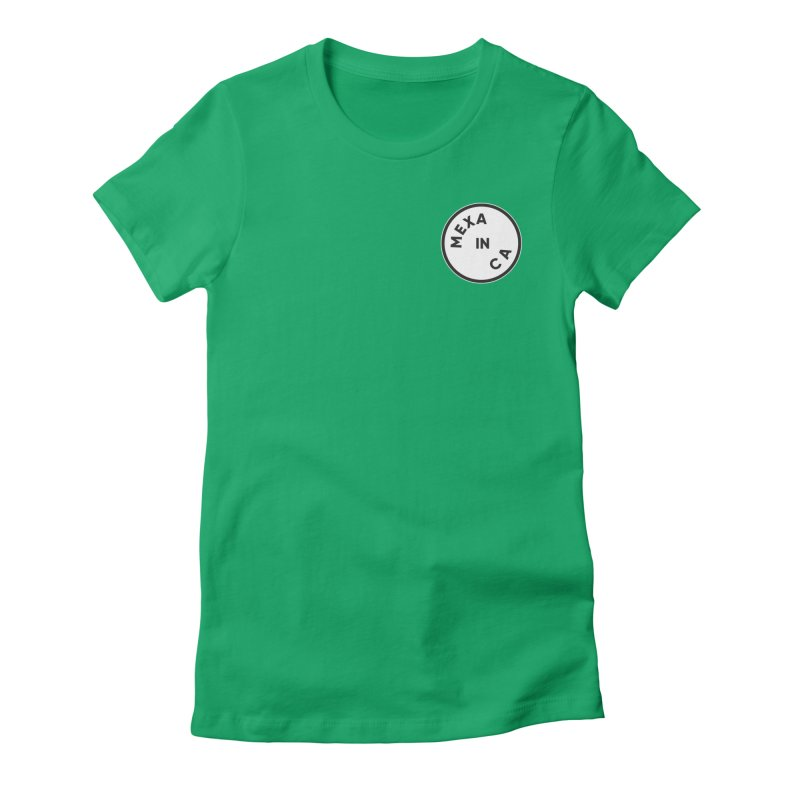 California Women's Fitted T-Shirt by Mexa In NYC