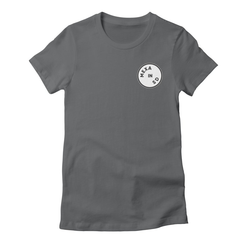 San Diego Women's Fitted T-Shirt by Mexa In NYC