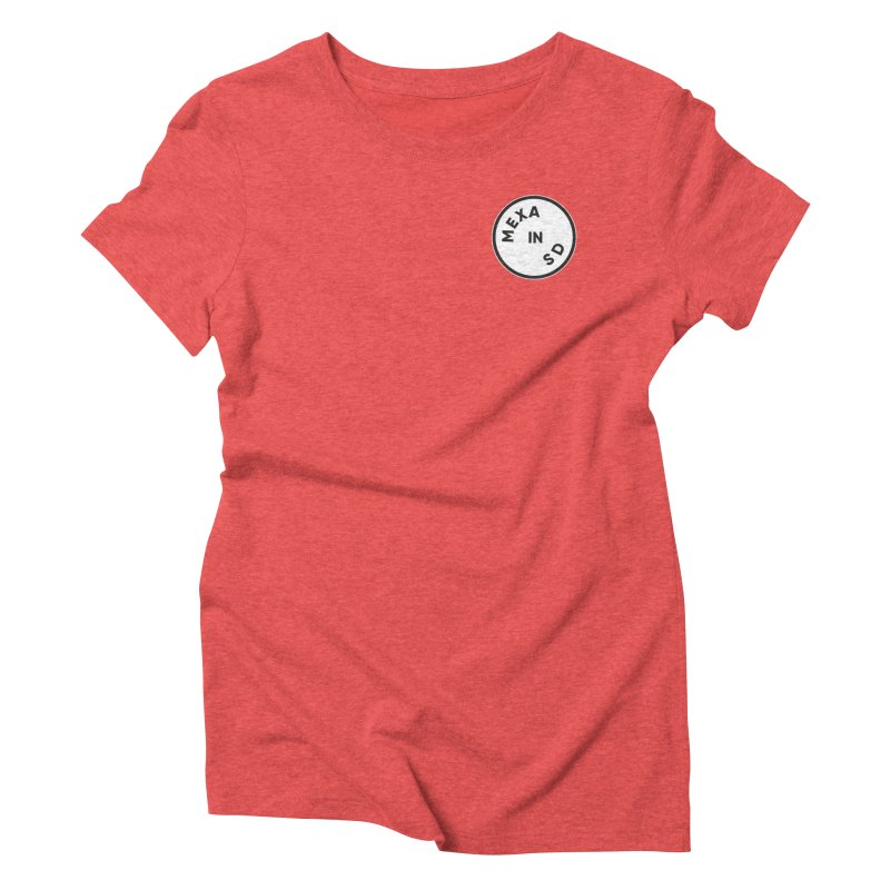 San Diego Women's Triblend T-Shirt by Mexa In NYC