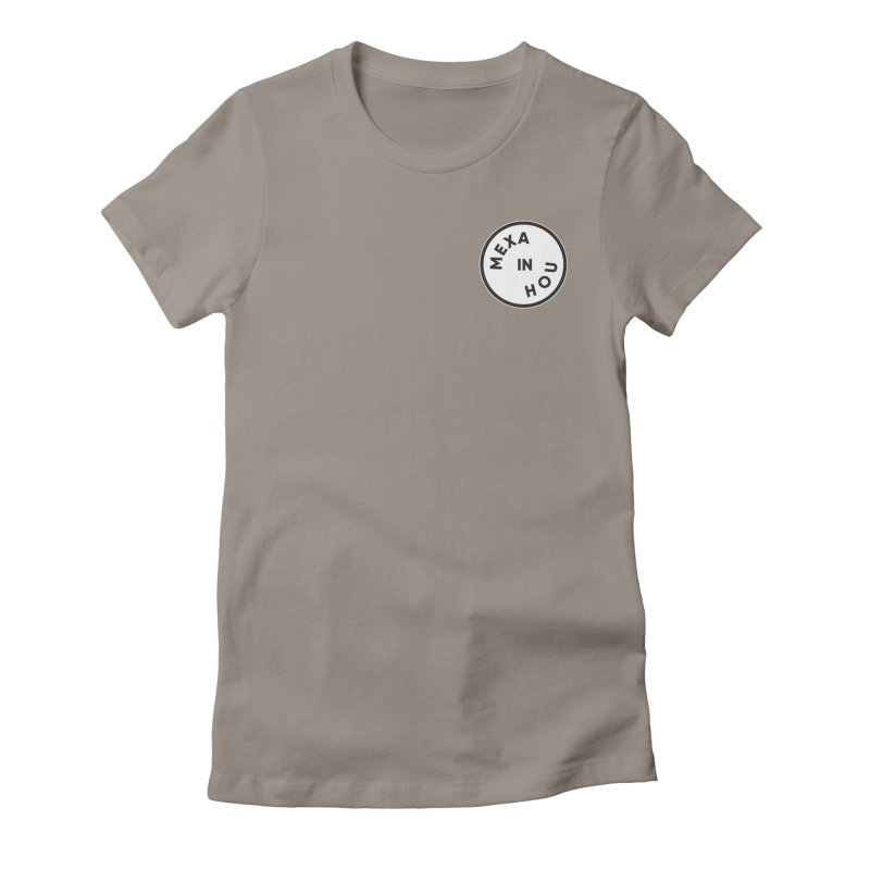 Houston Women's Fitted T-Shirt by Mexa In NYC