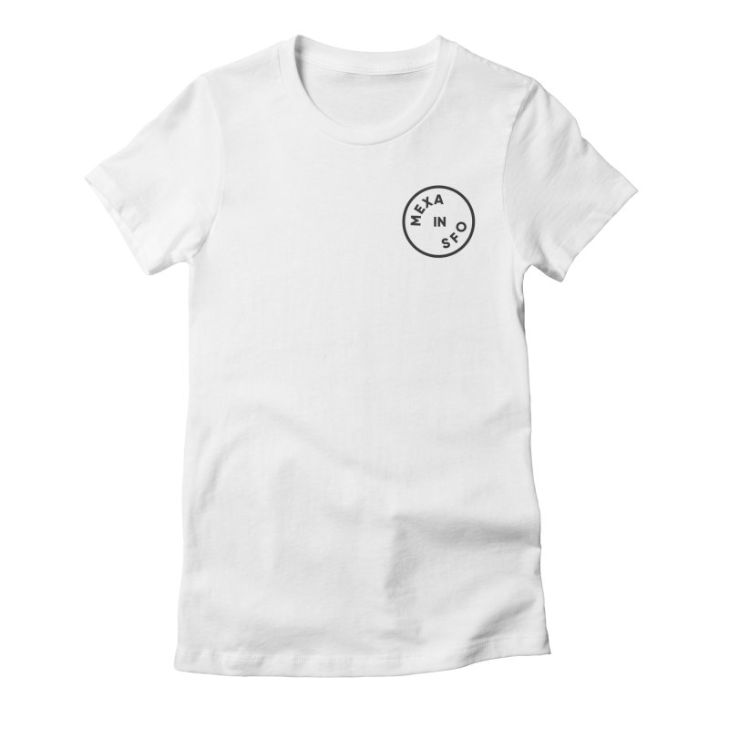 San Francisco Women's Fitted T-Shirt by Mexa In NYC