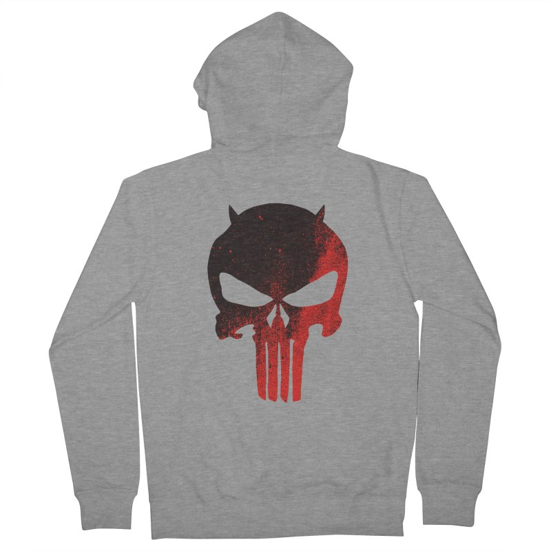 Dare to punish Men's Zip-Up Hoody by Mexican Dave's Artist Shop