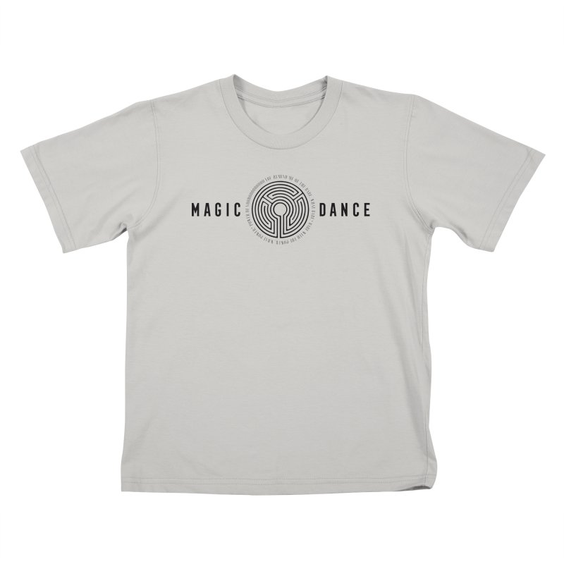 MAGIC DANCE Kids T-Shirt by Mexican Dave's Artist Shop