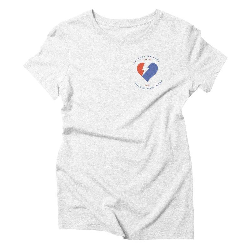 Let's Dance Women's Triblend T-shirt by Mexican Dave's Artist Shop