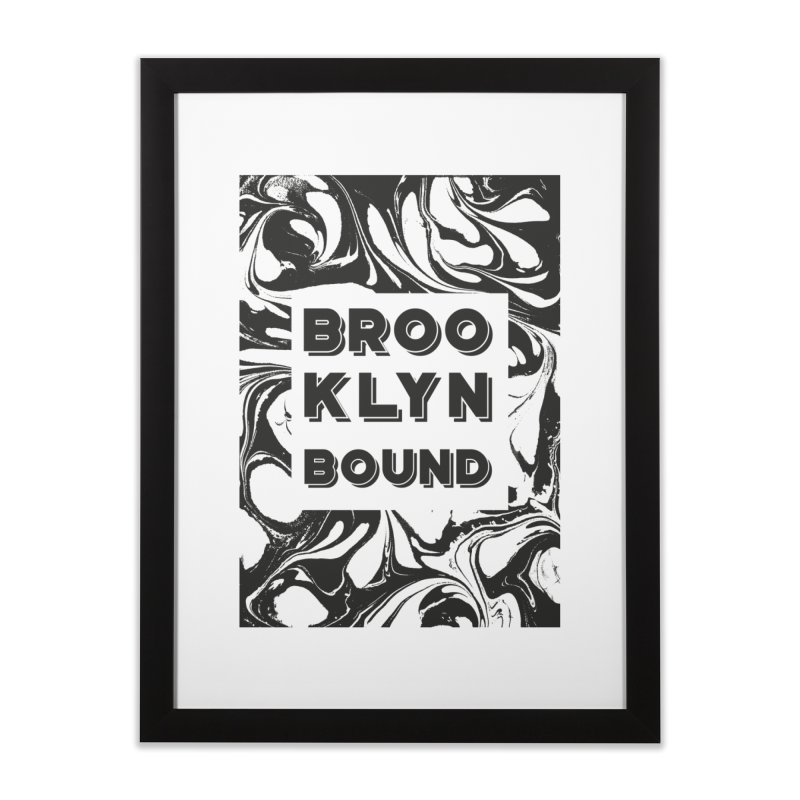 Brooklyn Bound Home Framed Fine Art Print by Mexican Dave's Artist Shop
