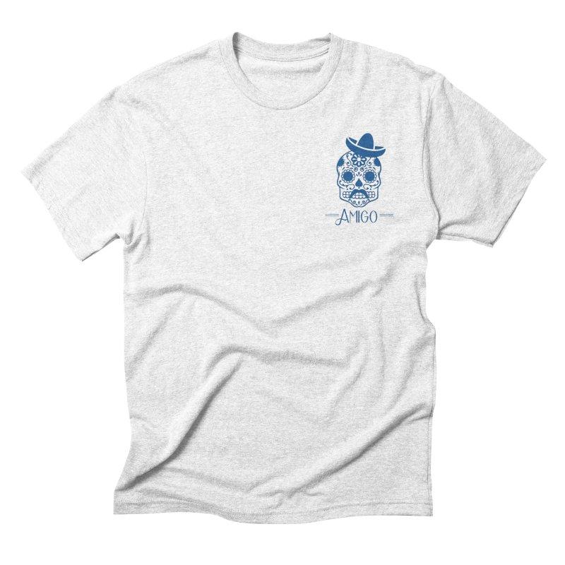 Amigo Men's Triblend T-shirt by Mexican Dave's Artist Shop