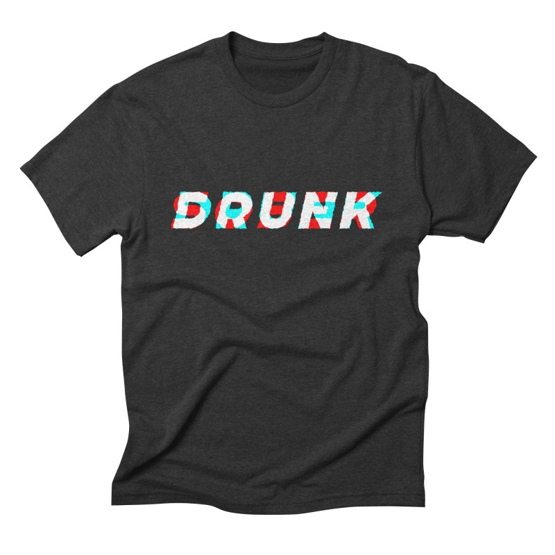 Sober but Drunk Men's Triblend T-Shirt by Mexican Dave's Artist Shop