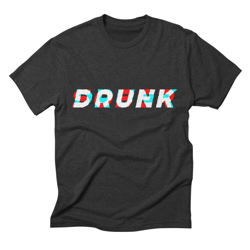 Sober but Drunk Men's Triblend T-shirt by Mexican Dave's Artist Shop