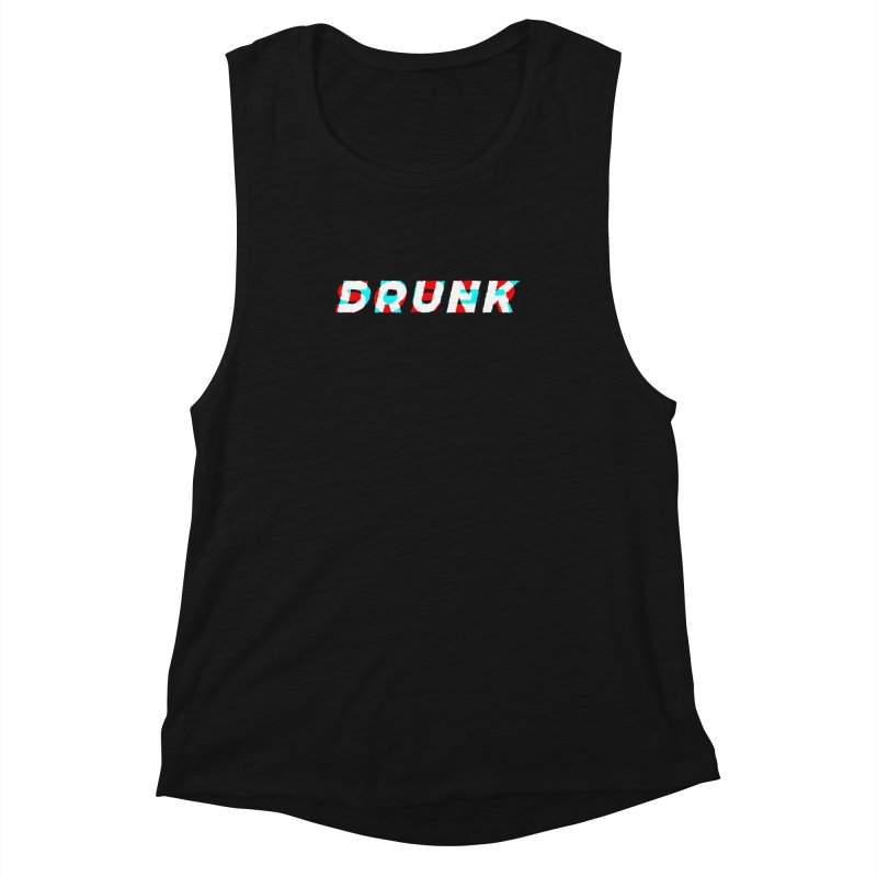 Sober but Drunk Women's Muscle Tank by Mexican Dave's Artist Shop