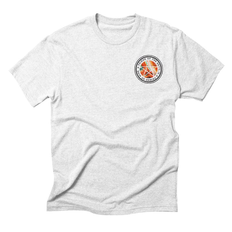 A friend of the devil Men's Triblend T-shirt by Mexican Dave's Artist Shop