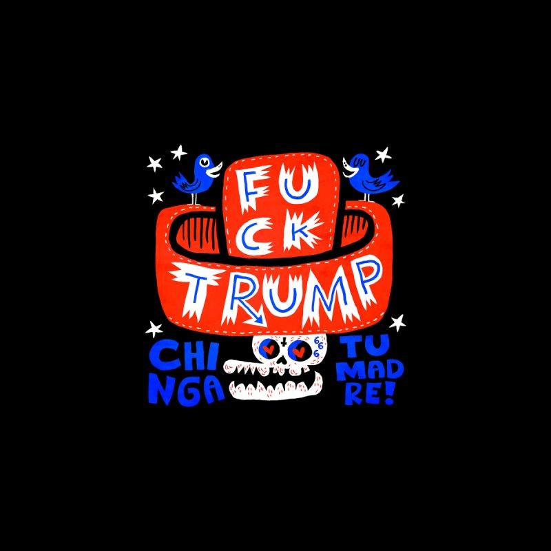 F TRUMP Men's T-Shirt by Super Macho Artist Shop