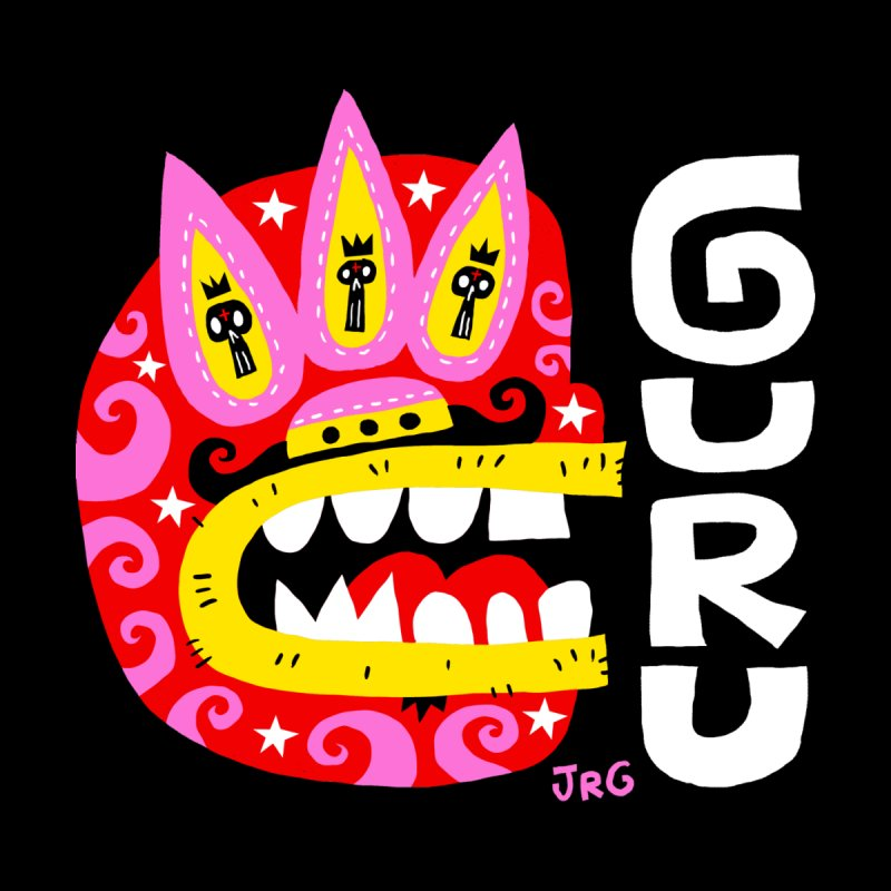 GURU Luchador by Super Macho Artist Shop
