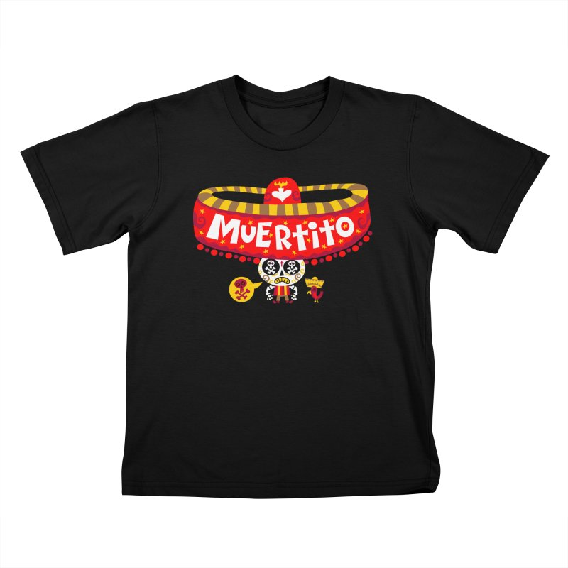 Muertito Kids T-Shirt by Super Macho Artist Shop