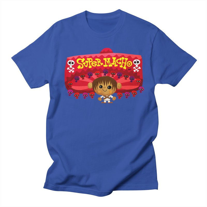 Super Macho Kid Men's Regular T-Shirt by Super Macho Artist Shop