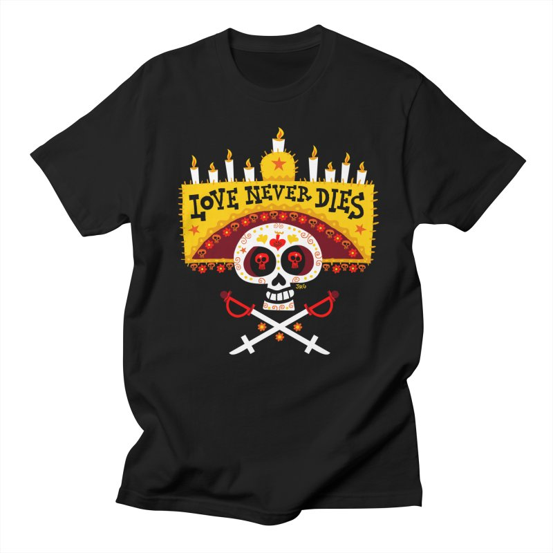 Love Never Dies Men's T-Shirt by Super Macho Artist Shop