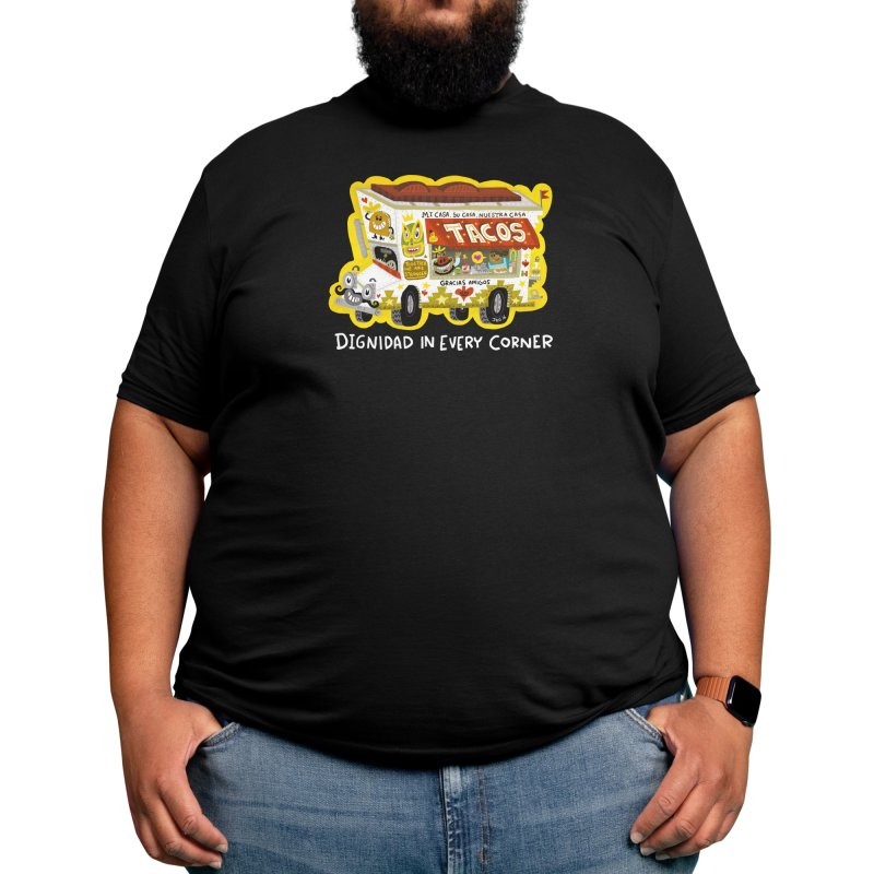 Taco Truck Men's T-Shirt by Super Macho Artist Shop
