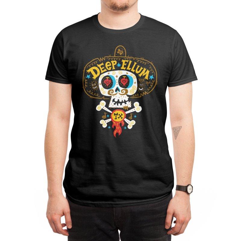 Deep Ellum Men's T-Shirt by Super Macho Artist Shop