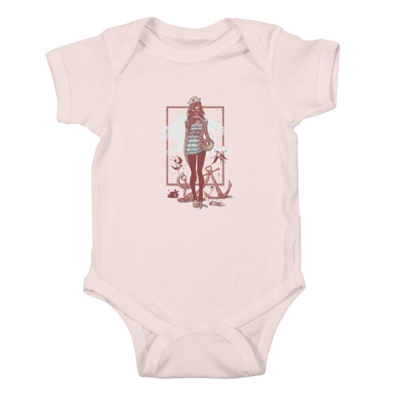SELFIE- JoNAH Kids Baby Bodysuit by mfk00's Artist Shop