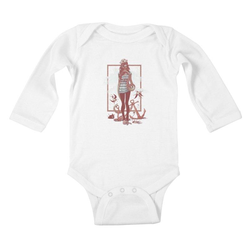 SELFIE- JoNAH Kids Baby Longsleeve Bodysuit by mfk00's Artist Shop