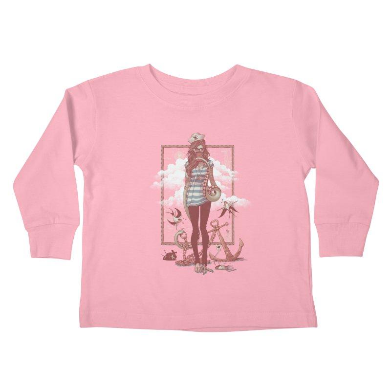 SELFIE- JoNAH Kids Toddler Longsleeve T-Shirt by mfk00's Artist Shop