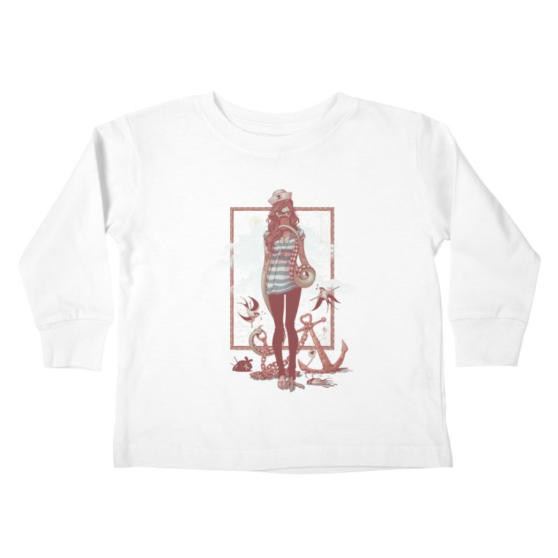 SELFIE- JoNAH Kids Toddler Longsleeve T-Shirt by mfk00's Artist Shop