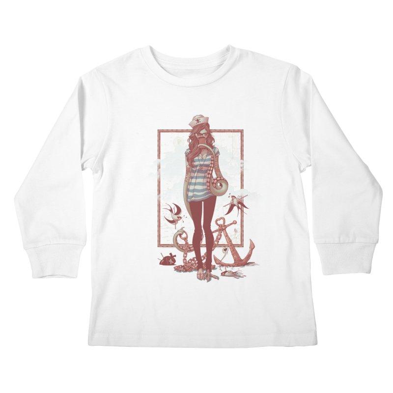 SELFIE- JoNAH Kids Longsleeve T-Shirt by mfk00's Artist Shop
