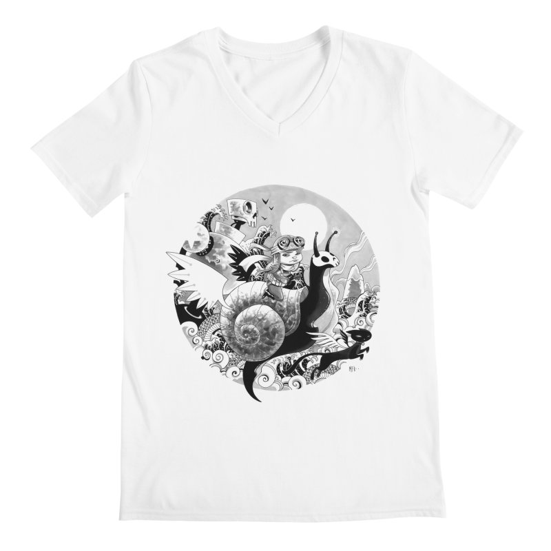 KAMIKAZE OF LOVE Men's V-Neck by mfk00's Artist Shop