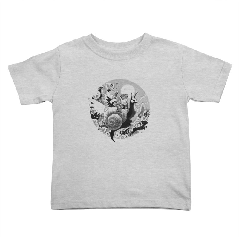 KAMIKAZE OF LOVE Kids Toddler T-Shirt by mfk00's Artist Shop