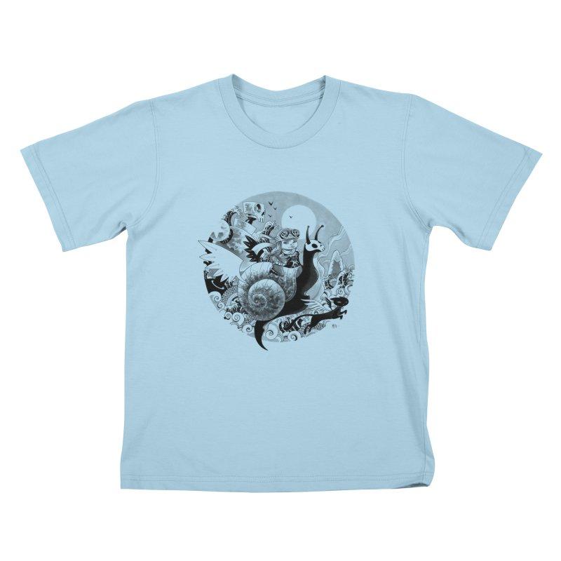 KAMIKAZE OF LOVE Kids T-Shirt by mfk00's Artist Shop