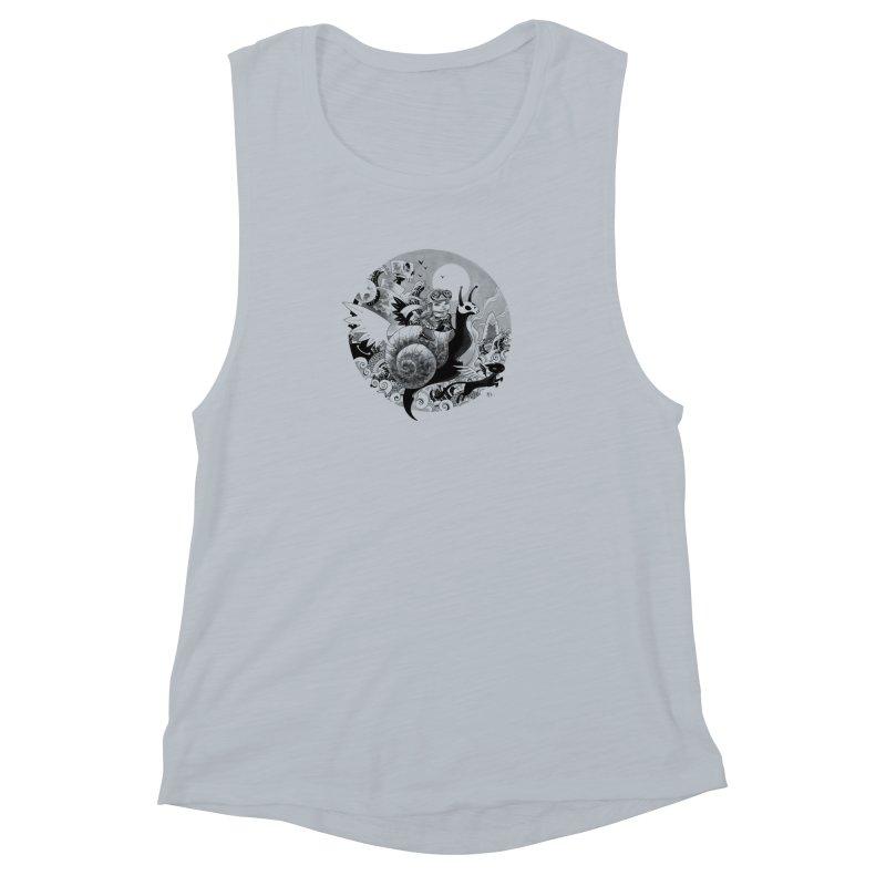 KAMIKAZE OF LOVE Women's Muscle Tank by mfk00's Artist Shop
