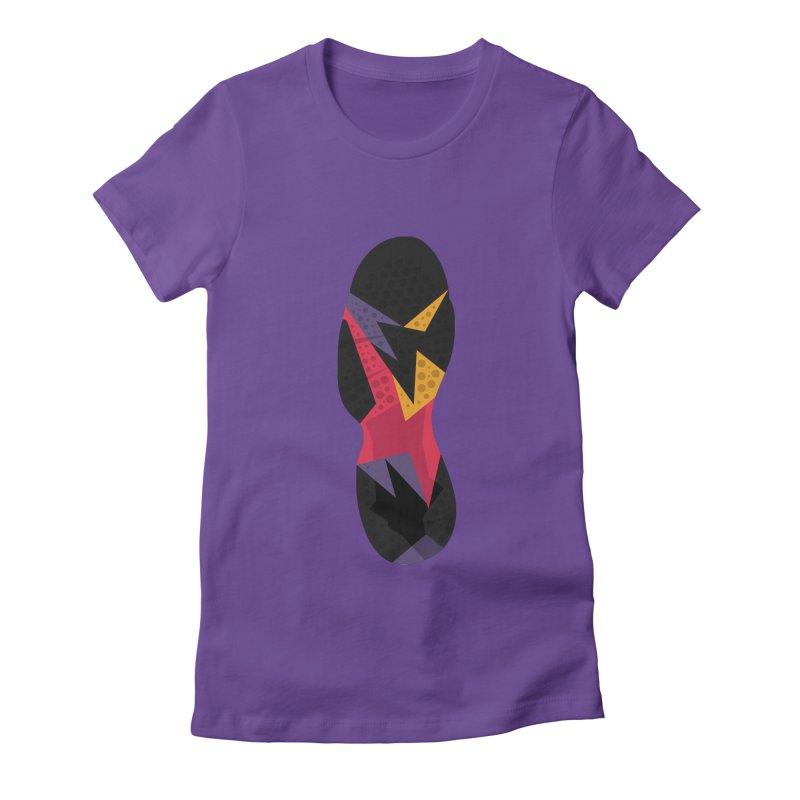 AJ RAPTOR Women's Fitted T-Shirt by mfk00's Artist Shop
